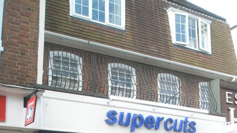 Supercuts hairdressers in Gosport High Street: Basher Eyre