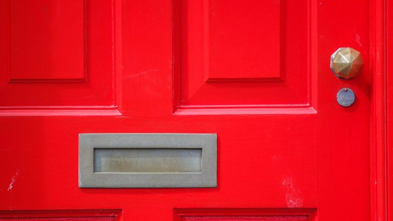 A fingertip was posted through a letterbox in Bognor Regis, Sussex Police said