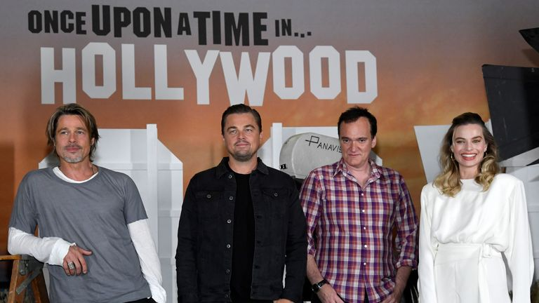 The cast of Once Upon A Time In Hollywood
