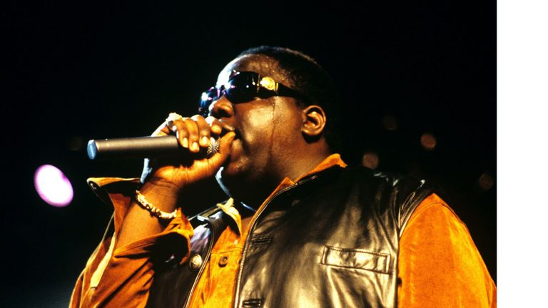 The Notorious B.I.G. Pic: Busacca/Mediapunch/Shutterstock