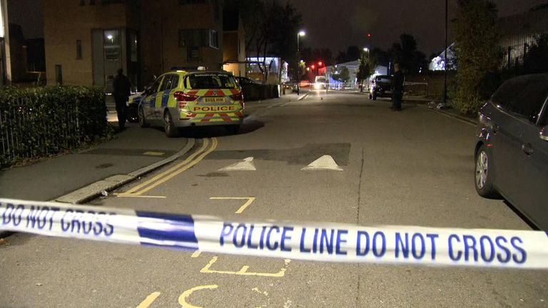 Two stabbings were reported in Tottenham on Sunday night