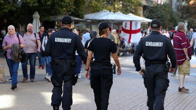 British man dies in Bulgaria ahead of England's Euro 2020 qualifier