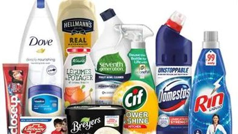 Unilever, which owns more than 400 brands, will halve the 700,000 tonnes of plastic it uses each year by 2025. Pic: Unilever.com