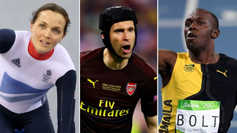 Victoria Pendleton, Petr Cech and Usain Bolt have all switched sports