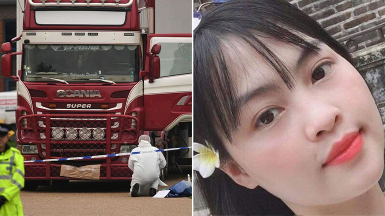 Tra My is feared to be among the 39 bodies found in the container of a truck discovered in Essex