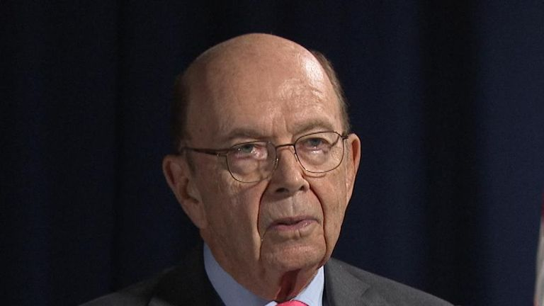 Wilbur Ross dismisses Trump impeachment process as being based on 'gossip'