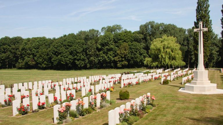 The ceremony will take place at Wytschaete Military Cemetery on Thursday. File pic
