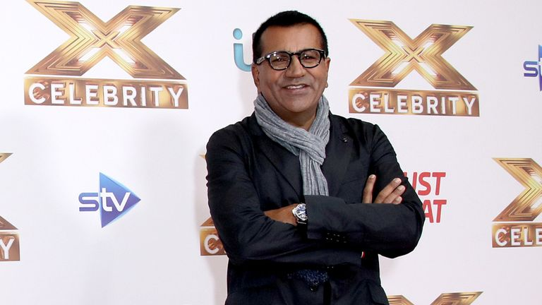 "Martin Bashir attends ""The X Factor: Celebrity"" launch photocall at The Mayfair Hotel on October 09, 2019 in London"