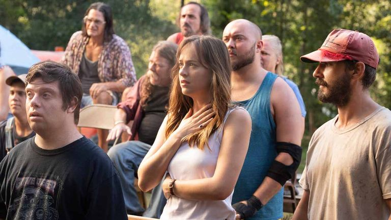 Dakota Johnson plays maternal care worker Eleanor in the movie