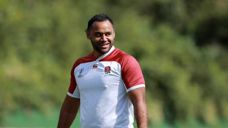 England's Billy Vunipola says he is ready to take on Australia after recovering from an ankle injury