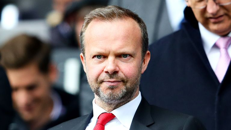 Ole Gunnar Solskjaer says he and Manchester United's executive vice-chairman Ed Woodward have a long-term plan for the club