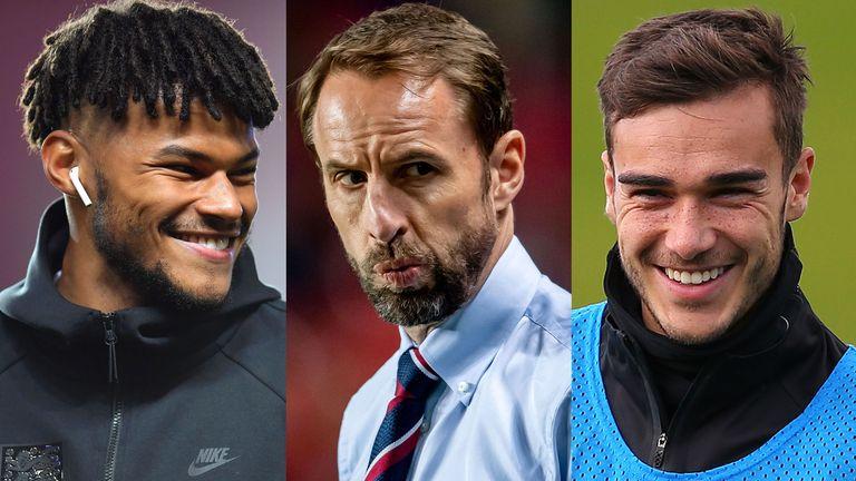 Gareth Southgate Tyrone Mings Harry Winks England Bulgaria