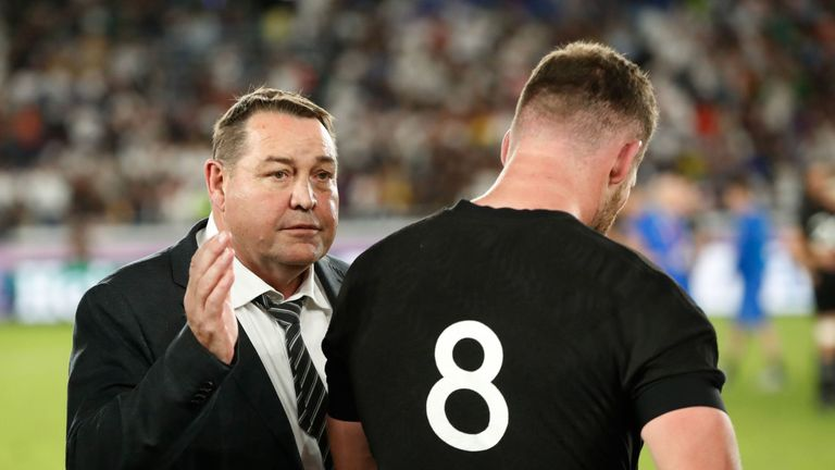 New Zealand head coach Steve Hansen admits England deserved to beat his side in the Rugby World Cup semi-final