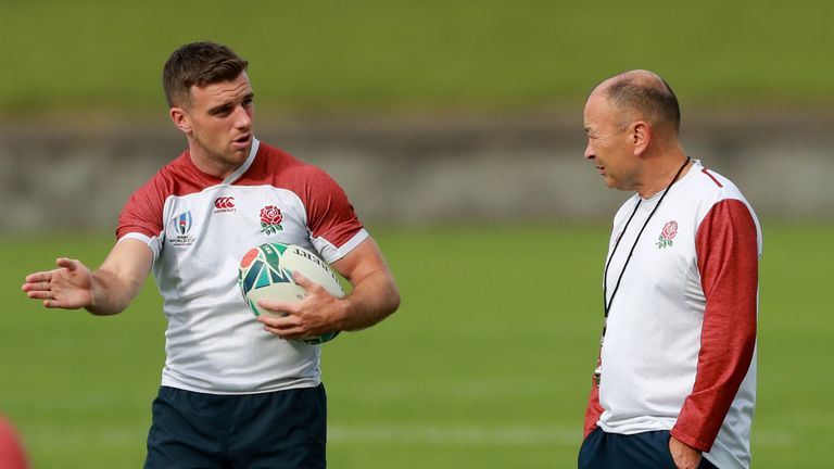 Eddie Jones insists he has not dropped George Ford for England's Rugby World Cup quarter-final against Australia