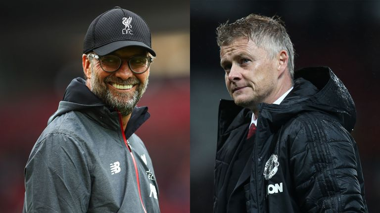 For now, Liverpool are flying under Jurgen Klopp, while Ole Gunnar Solskjaer is desperately seeking identity at United