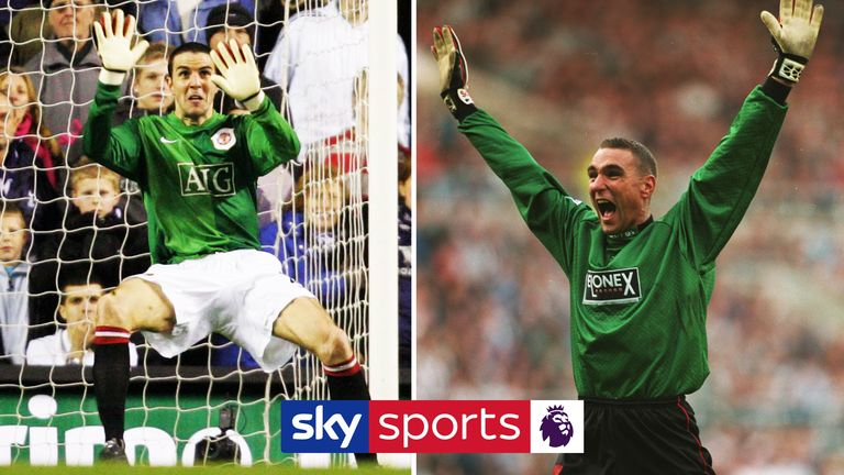 We take a look back at some of the memorable goalkeeper replacements in the Premier League; when outfield players have had to pull on the goalkeeper gloves!