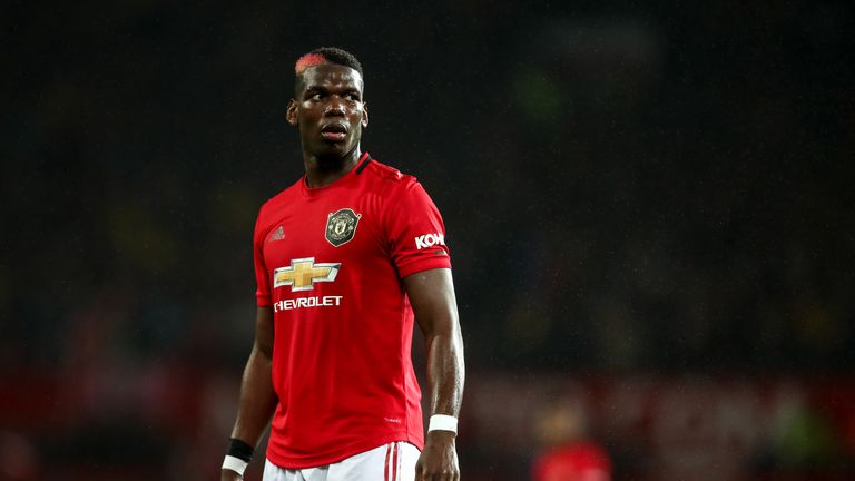 Paul Pogba still wants to leave Manchester United and feels he can play at a higher level, according to Sky Sports News reporter Kaveh Solhekol