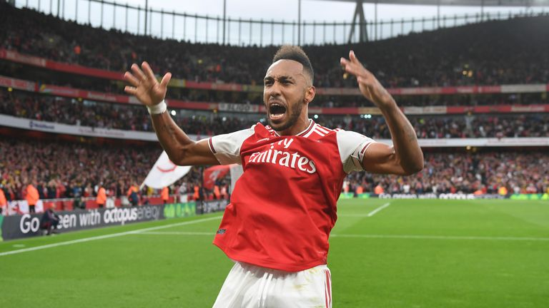 Unai Emery says Pierre-Emerick Aubameyang could be appointed Arsenal captain permanently after skippering the side against Wolves in Granit Xhaka's absence