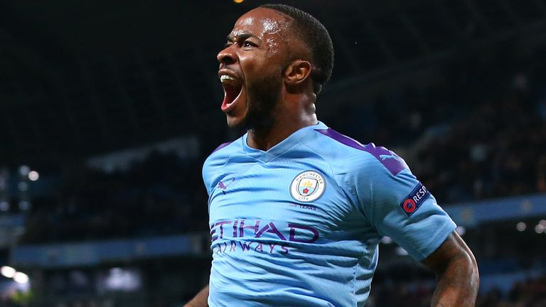 Raheem Sterling scored a brilliant second-half hat-trick for Manchester City