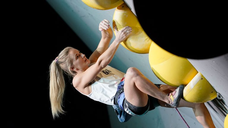 Coxsey says it's a 'pivotal time' for climbing as the sport gets set for its first appearance in the Olympic Games in Tokyo next year