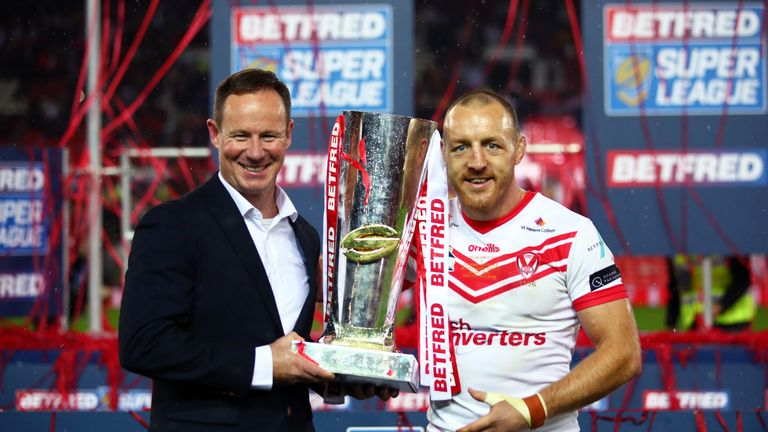 Justin Holbrook hails Super League champions St Helens | Rugby League News |