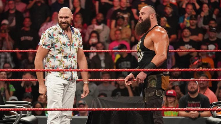Tyson Fury opens up on why he's wrestling at WWE Crown Jewel