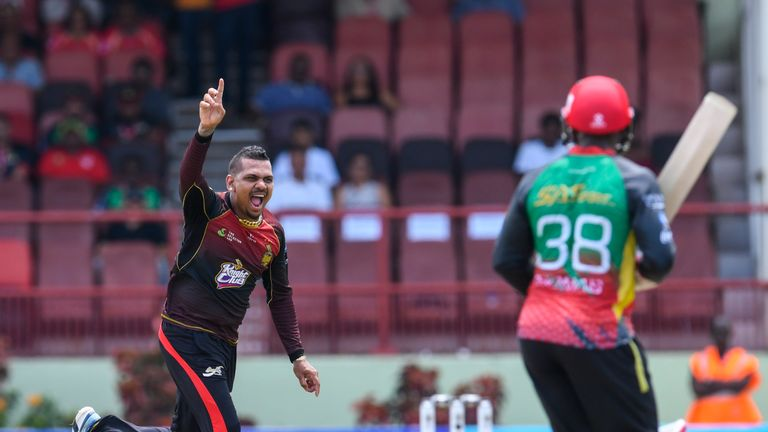 Defending CPL champions Trinbago Knight Riders boosted their hopes of reaching Saturday's final with a win over St Kitts and Nevis Patriots.