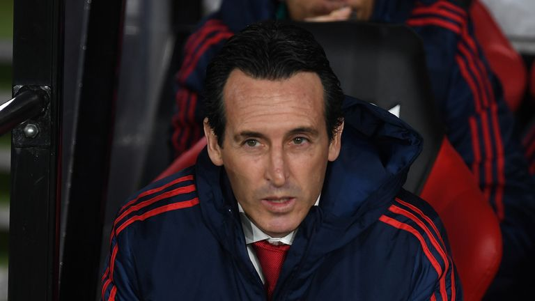 Gary Neville believes the criticism aimed at Emery in the final weeks of his tenure at Arsenal was 'unsavoury'