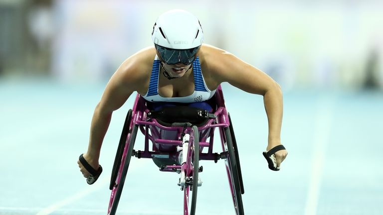 Samantha Kinghorn on how she overcame surgery to battle back and win a medal at the World Para Championships