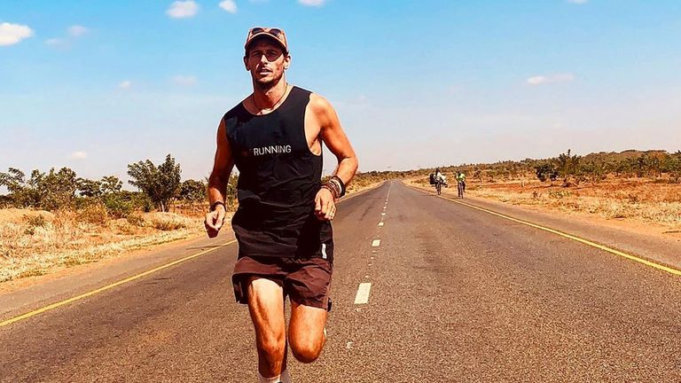 Ultra-marathon runner Nick Butter is looking forward to finishing his colossal challenge of completing 196 marathons in every country in the world