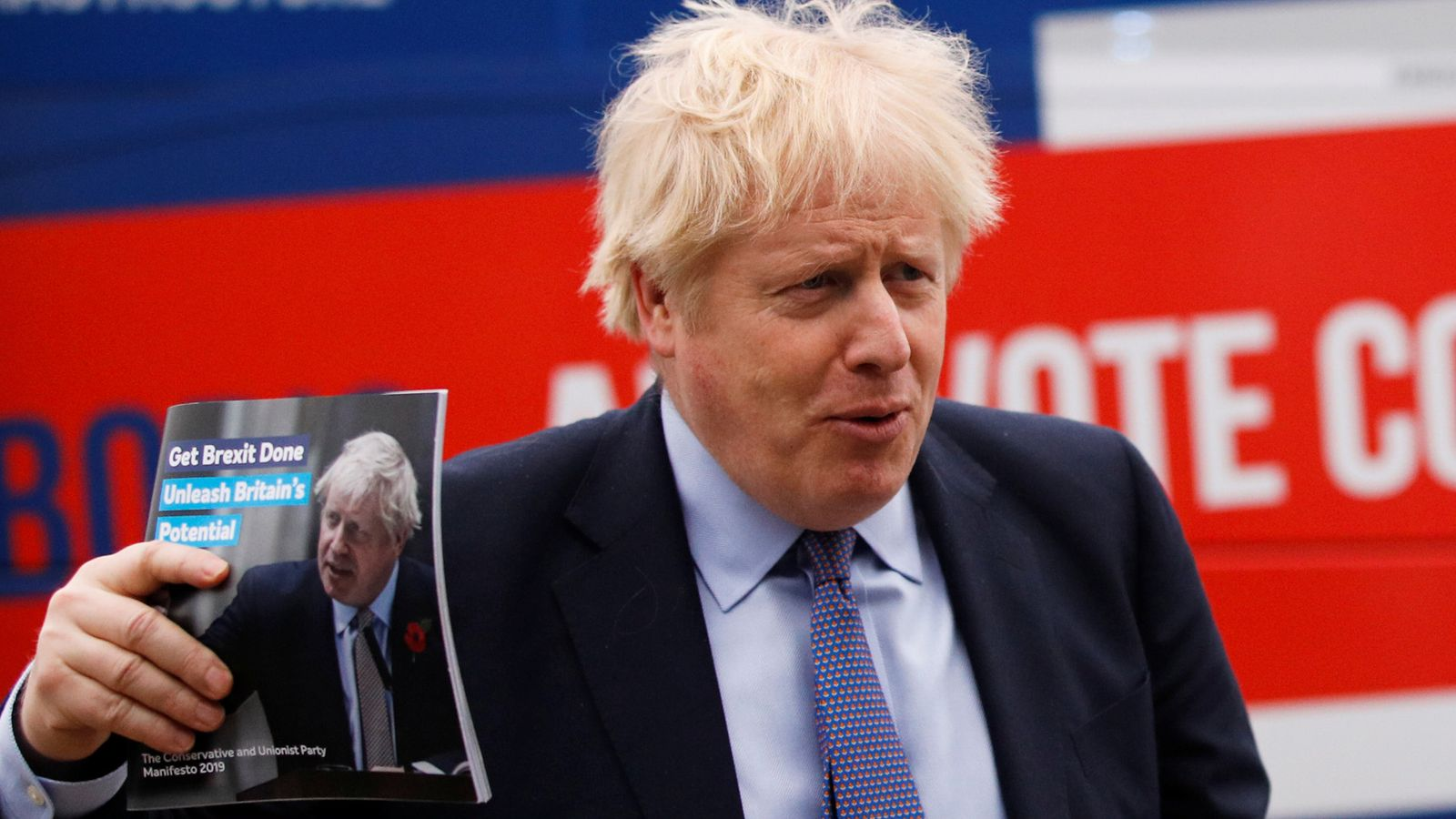 General election LIVE: Boris Johnson promises to 'forge a new Britain' at manifesto launch | Politics News | Sky News