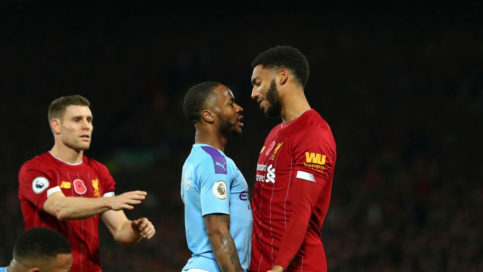 Raheem Sterling out of England game after 'disturbance' with teammate Joe Gomez