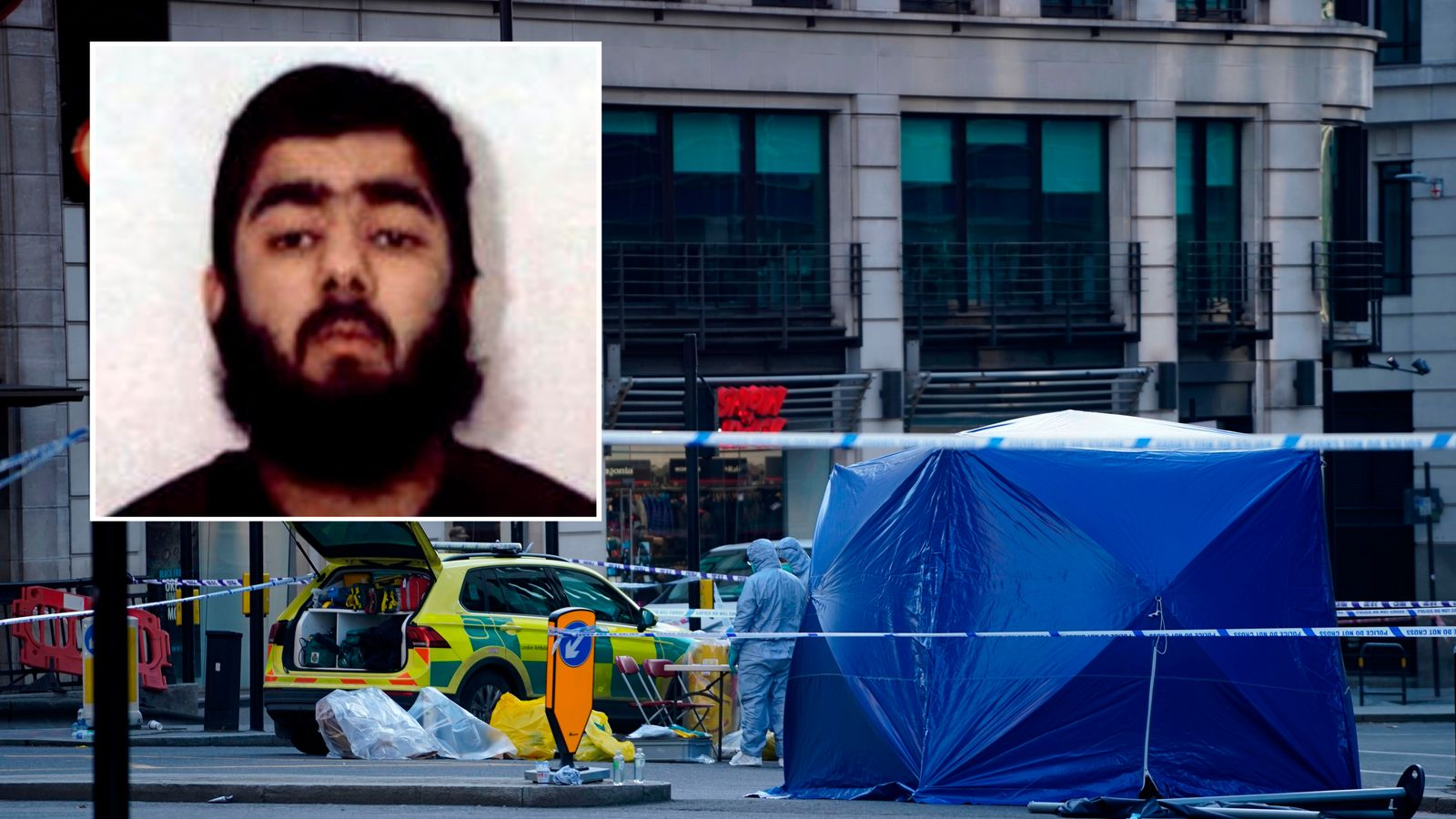 London Bridge killer Usman Khan was convicted terrorist recently freed from jail