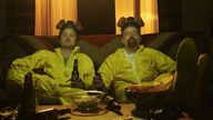 Jessie and Walter cooked up drugs in their university lab in Breaking Bad. Pic. Sony