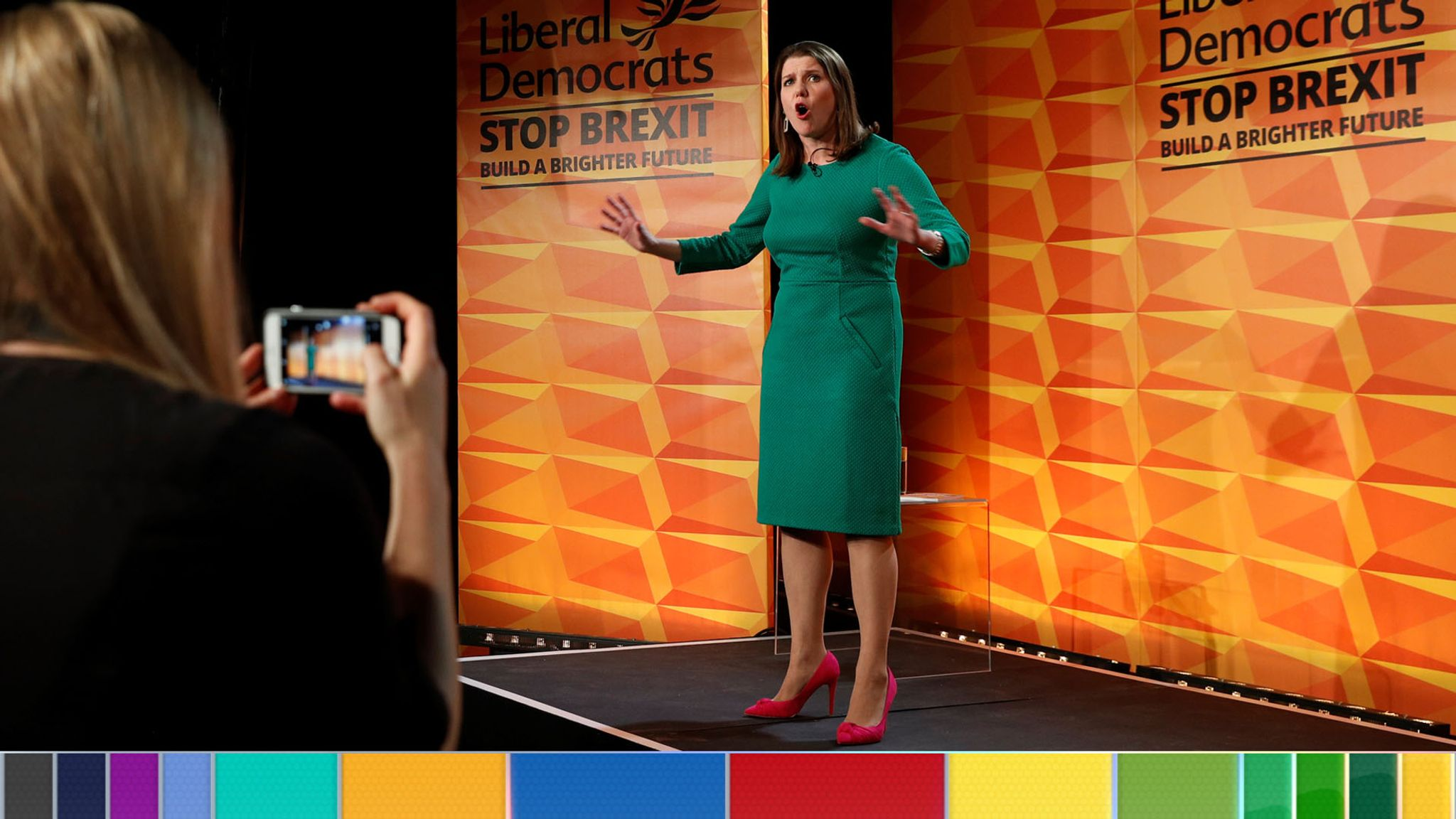 General election: Jo Swinson brands Boris Johnson serial liar at Liberal Democrat manifesto launch