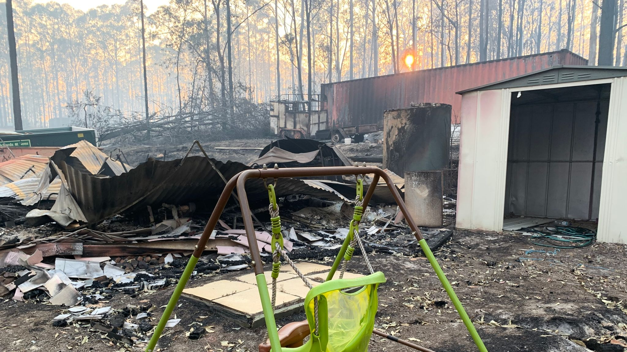 Australia bush fires: Overwhelming sense of loss as people count cost disaster