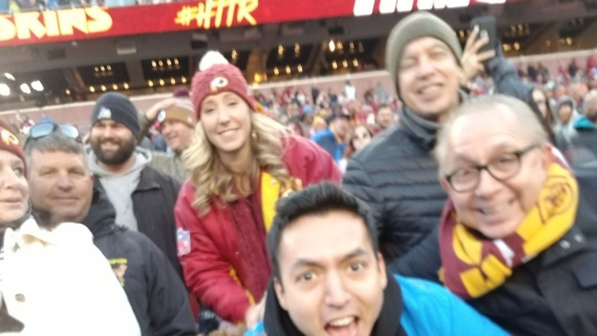 Dwayne Haskins: Redskins quarterback goes AWOL for fan selfie - but the game's not over