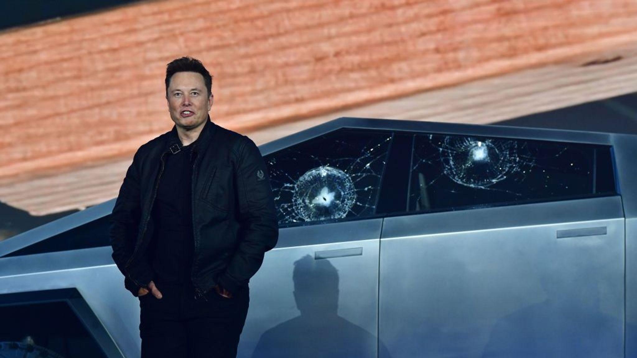 Tesla Cybertruck's windows shatter in embarrassing demonstration
