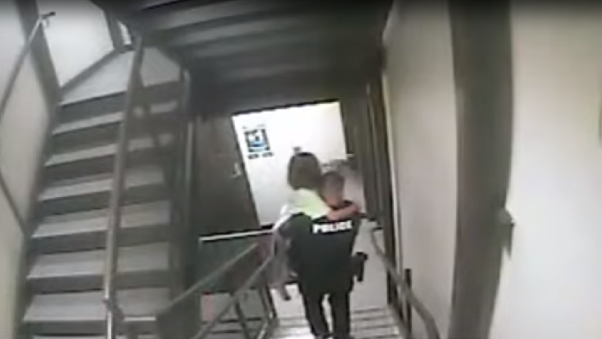 Kidnapped girl, 8, rescued by police in dramatic bodycam footage