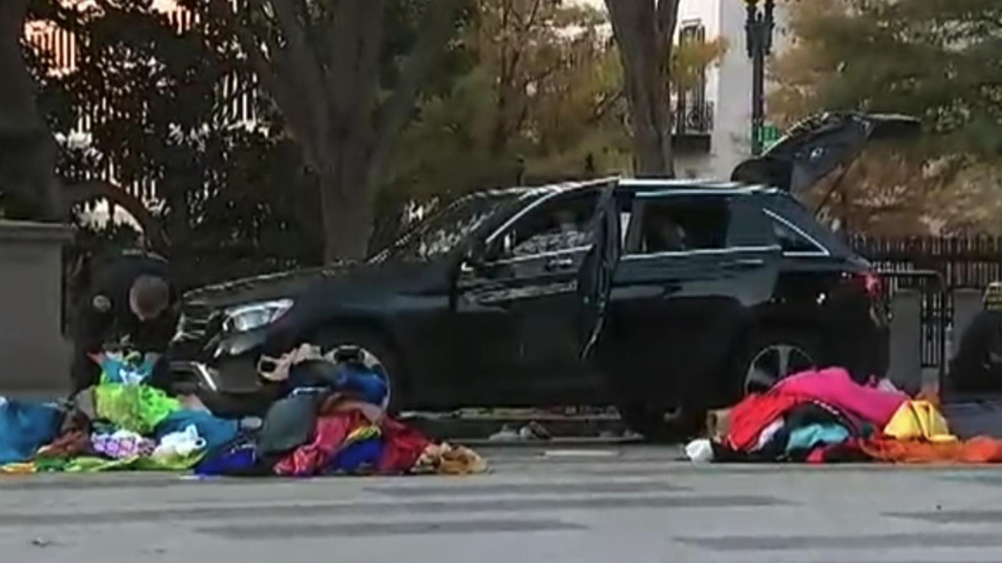 White House Suspicious Vehicle Tried To Enter Complex Says