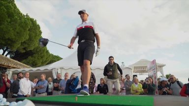 Mike Dean takes on long drive challenge!