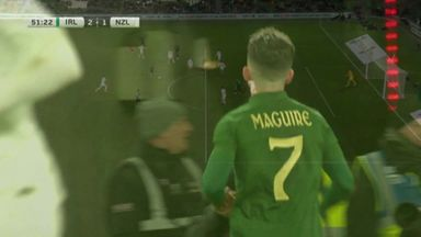 Maguire stunner gives Ireland the lead!