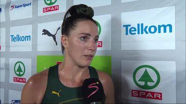 Van der Merwe upbeat despite defeat