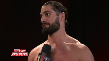 Rollins sends a message to Triple H