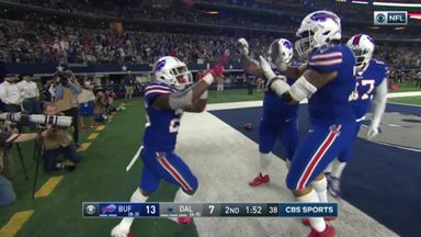 Bills' trick-play touchdown