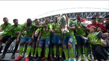 Seattle beat Toronto in MLS Cup Final