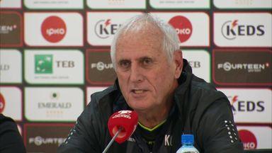 Kosovo coach goes crazy over England!