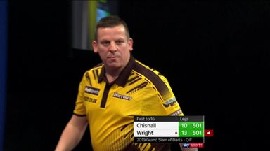 Chisnall's crucial 114 checkout