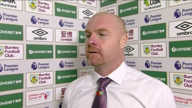 Dyche pleased with reaction to Chelsea loss