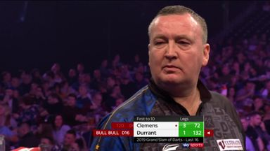 Durrant's majestic 132 finish
